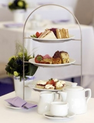 A sample afternoon tea