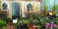 Plant nursery display at the autumn show